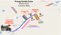 accommodation in kumbh maha mela Nashik 2015'Prayag Kumbh Camp Cottage 2015'
